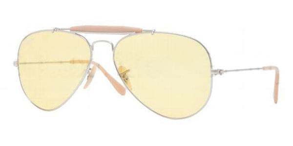 272faf7cd16 Ray-Ban RB3407 Outdoorsman II Rainbow 003 4A Sunglasses Silver ...