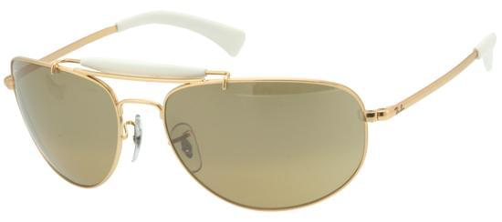 34a0d2a848 Ray-Ban RB3423 Highstreet 001 3K Sunglasses Gold