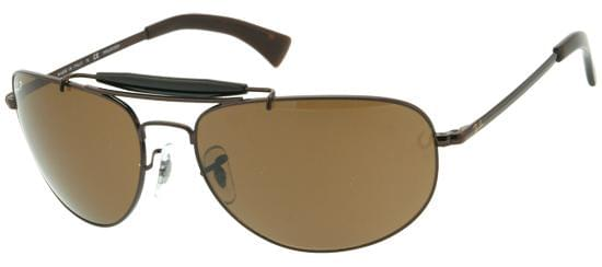 5472ddf336 Ray-Ban RB3423 Highstreet Polarized 014 57 Sunglasses Brown ...