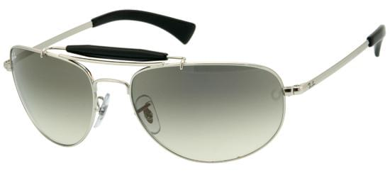 5a3fdc282d Ray-Ban RB3423 Highstreet 003 32 Sunglasses in Silver ...