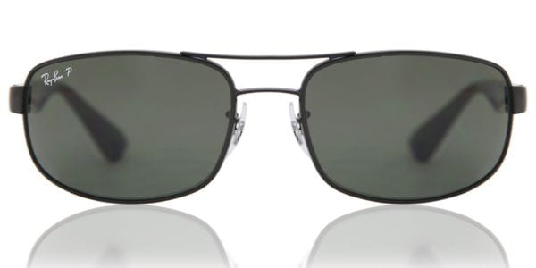 ee61fff426b06 Ray-Ban RB3445 Active Lifestyle Polarized 002 58 Sunglasses Black ...