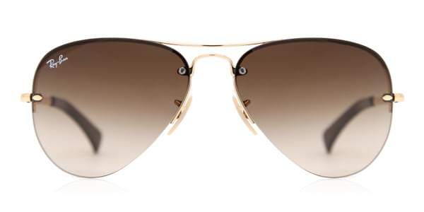 7e39dc8e36981 Ray-Ban RB3449 Highstreet 001 13 Sunglasses Gold   SmartBuyGlasses India