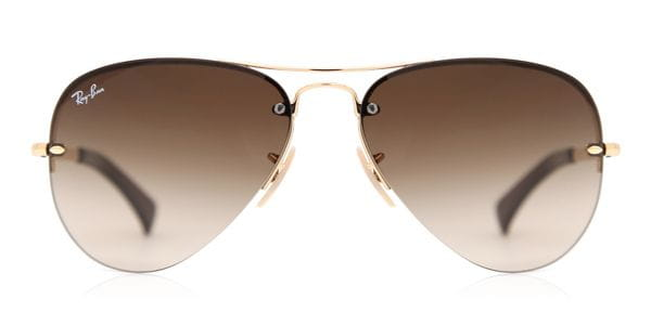 1119522862 Ray-Ban RB3449 Highstreet 001 13 Sunglasses Gold