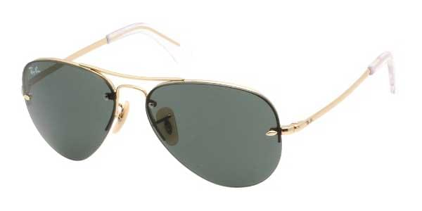 f6cb8974b5860 Ray-Ban RB3449 Highstreet 001 71 Sunglasses in Gold ...