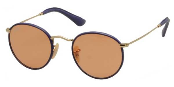 d276ce5272459 Ray-Ban RB3475Q Round Craft 001 13 F Sunglasses in Gold ...