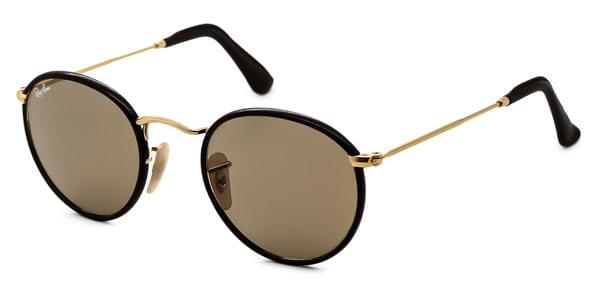 99b78195524b1 Ray-Ban RB3475Q Round Craft 112 53 Sunglasses Gold   SmartBuyGlasses ...