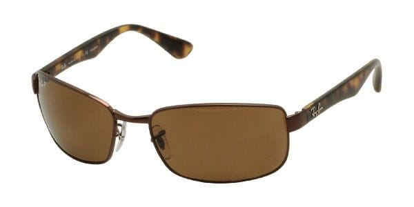 59a531c5bb Ray-Ban RB3478 Active Lifestyle Polarized 014 57 Sunglasses in Brown ...