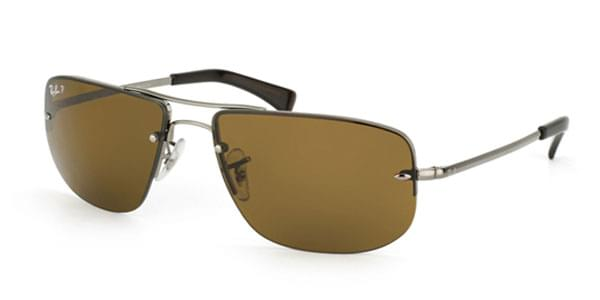 58672e4de2 Ray-Ban RB3497 Highstreet Polarized 004 83 Sunglasses. Please activate  Adobe Flash Player in order to use Virtual Try-On and try again.