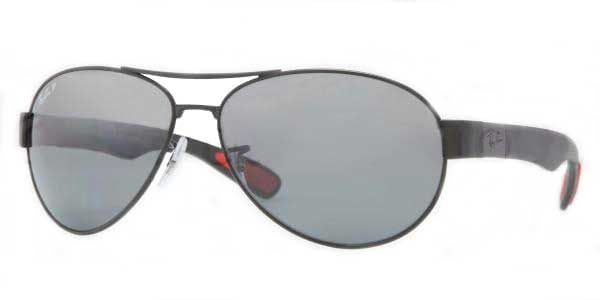 9b55fbaf2c Ray-Ban RB3509 Active Lifestyle Polarized 006 82 Sunglasses in Black ...