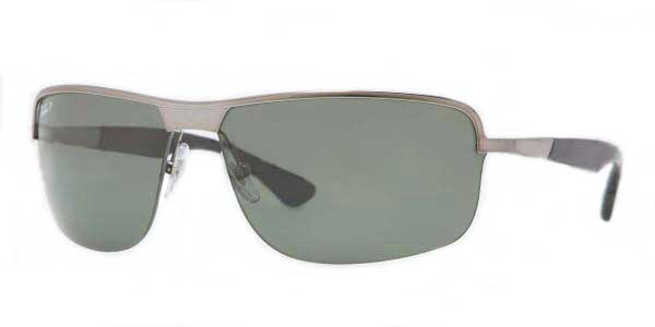 287051b2675 Ray-Ban RB3510 Highstreet Polarized 004 9A Sunglasses in Grey ...