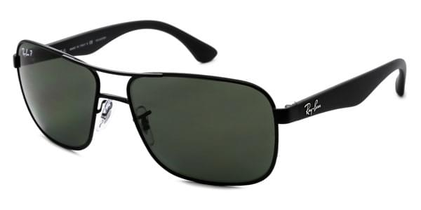 d007a8562c Ray-Ban RB3516 Highstreet Polarized 006 9A Sunglasses Black ...