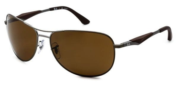 4b4fbdc63e Ray-Ban RB3519 Active Lifestyle Polarized 029 83 Sunglasses Grey ...
