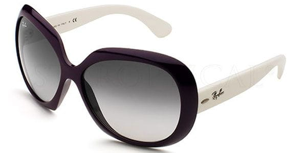 353fa76b9e5 Ray-Ban RB4098 Jackie Ohh II 766 8G Sunglasses in Purple ...