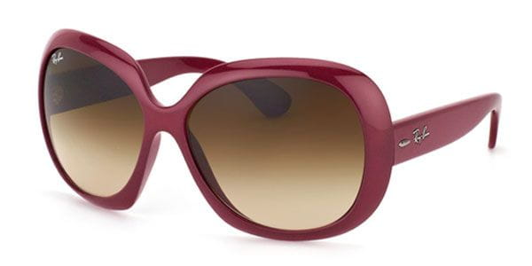 1817bdde2f Ray-Ban RB4098 Jackie Ohh II 6010 13 Sunglasses Red ...