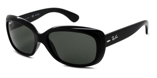 86acc6a371 Ray-Ban RB4101 Jackie Ohh Polarized 601 58 Sunglasses Black ...