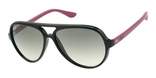 Ray-Ban RB4125 Cats 5000 802 32 A Sunglasses Pink   SmartBuyGlasses ... 48276344ef14