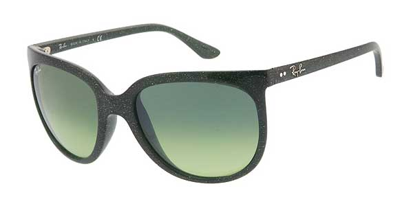fe9ffd5d235e8 Ray-Ban RB4126 Cats 1000 808 28 A Sunglasses in Green ...
