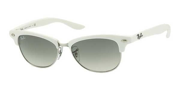 f6287157d Ray-Ban RB4132 Clubmaster 671/32 Sunglasses White | SmartBuyGlasses ...