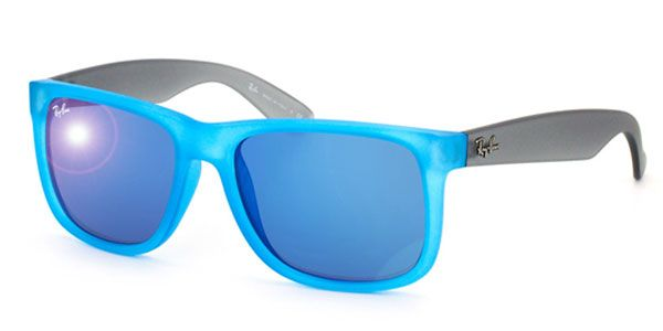 e0679c471 Óculos de Sol Ray-Ban RB4165 Justin Color Mix 6028/55 Azul ...