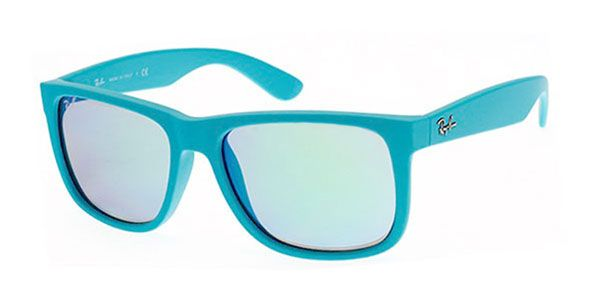 e25e561e4 Lentes de Sol Ray-Ban RB4165 Justin Color Mix 60903R Azul ...