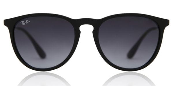 49502b5adfbd Ray-Ban RB4171 Erika 622 8G Sunglasses Black