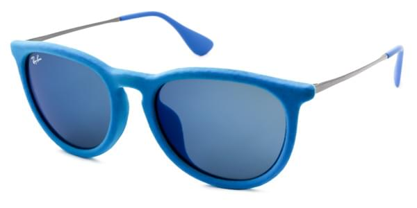 Ray-Ban RB4171F Erika Velvet Asian Fit 607955 Sunglasses in Blue ... 79664c7637