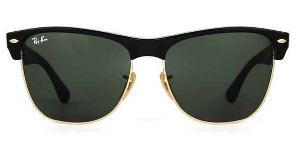 b8b08a63f9 Ray-Ban RB4175 Clubmaster Oversized 877 Sunglasses Black ...