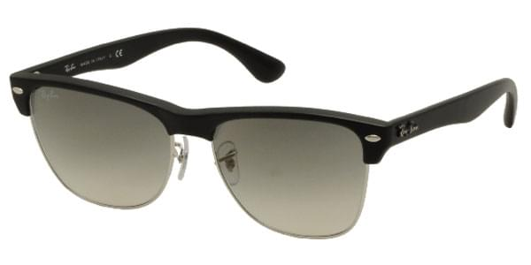 Ray-Ban RB4175 Clubmaster Oversized 877 32 Sunglasses in Black ... beeee5d43506