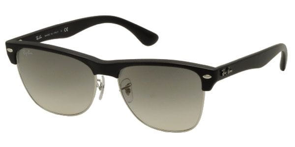 eedcaf742cb72 Ray-Ban RB4175 Clubmaster Oversized 877 32 Sunglasses in Black ...