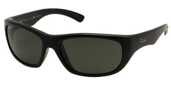 ee6870c72918c Ray-Ban RB4177 Polarized 601 58 Sunglasses Black