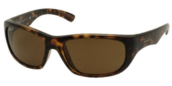 80ff45dae8 Ray-Ban RB4177 Polarized 710 57 Sunglasses Gold