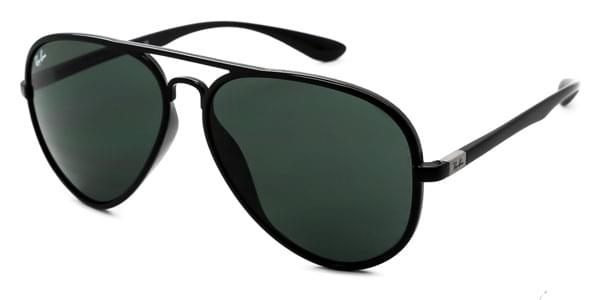2b6d4dc01c ... ban rb4180 aviator liteforce 601 71 sunglasses 269c3 0f5e5 low price  amazon ray ban rb4237 601s58 round liteforce matte black frame green  polarized lens ...