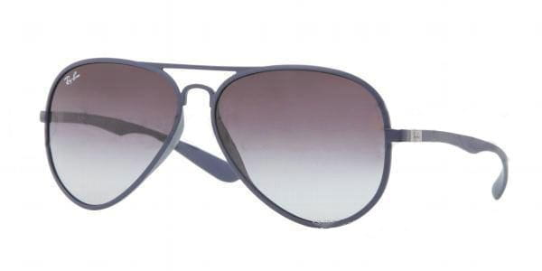 c57fa3428c9 Ray-Ban RB4180 Aviator LiteForce 883 8G Sunglasses Blue ...