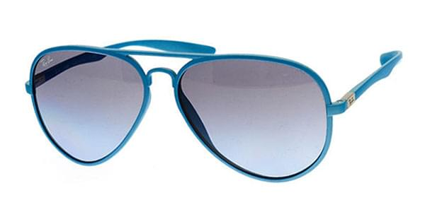46ade5aa41c Ray-Ban RB4180 Aviator Liteforce 60848F Sunglasses Blue ...