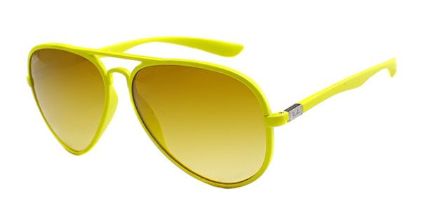 f949cfd492d Ray-Ban RB4180 Aviator Liteforce 60852L Sunglasses Yellow ...