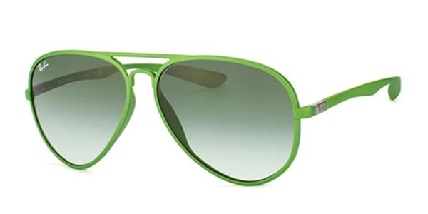 c2b89ba262a Ray-Ban RB4180 Aviator Liteforce 60868E Sunglasses Green ...