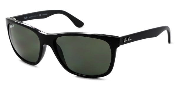dcb57d9ab4 Ray-Ban RB4181 Highstreet Polarized 601 9A Sunglasses Black ...