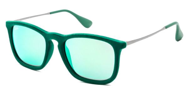 Ray-Ban RB4187 Chris Velvet 60823R Sunglasses Green ... a9815b7e66