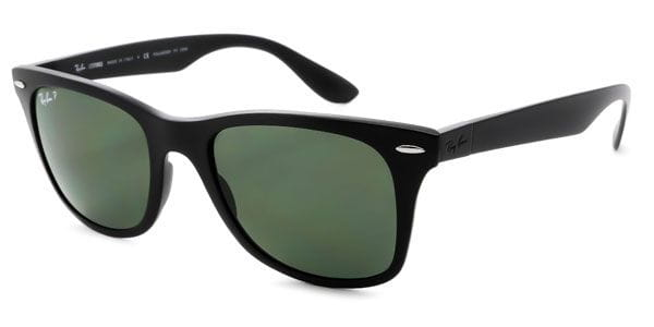 a107e58ba2a Ray-Ban RB4195F Wayfarer Liteforce Asian Fit Polarized 601S9A Sunglasses