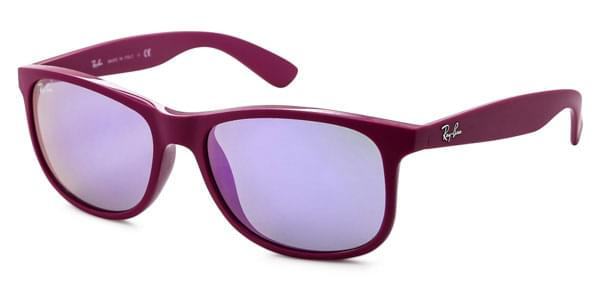 252fd0e001 Ray-Ban RB4202F Andy Asian Fit 60714V Sunglasses Purple ...
