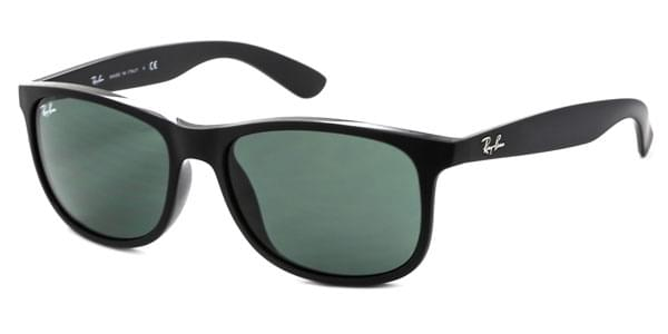 7bf1219fbe Ray-Ban RB4202F Andy Asian Fit 606971 Sunglasses Black ...