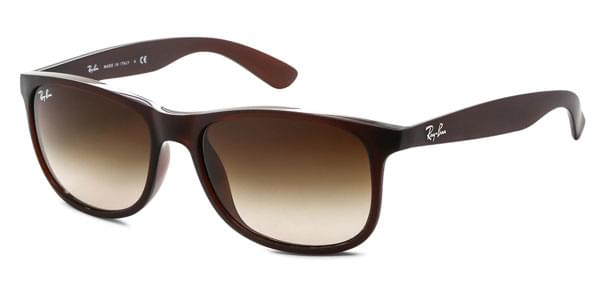 eea153af777 Ray-Ban RB4202F Andy Asian Fit 607313 Sunglasses Brown ...
