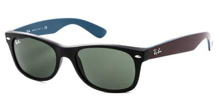 e612bd9dfa4be Ray-Ban RB2132 New Wayfarer Bicolor 6179 Sunglasses in Tortoise ...