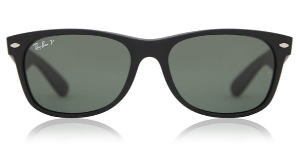 fab011e720 Ray-Ban RB2132 New Wayfarer Polarized 622 58 Occhiali da Sole Nero ...