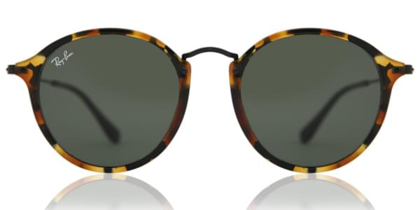 f6a0943fee9bb Ray-Ban RB2447 Round Fleck 1157 Sunglasses Tortoise ...