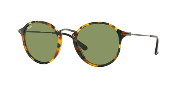 79606822b51 Ray-Ban RB2447 Round Fleck 11594E Sunglasses in Green ...