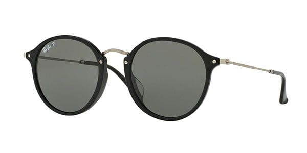 ray ban round fleck polarized