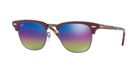 93a0fed059 Ray-Ban RB3016 Clubmaster W0365 Sunglasses Gold