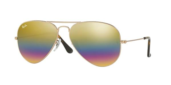 571616a4ede Ray-Ban RB3025 Aviator Large Metal 9020C4 Sunglasses Gold ...