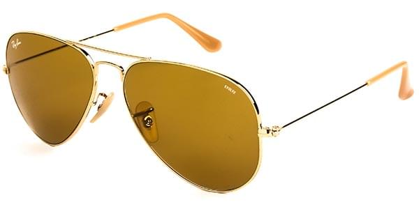 f13e5a14b3 Ray-Ban RB3025 Aviator Large Metal 90644I Sunglasses Gold ...
